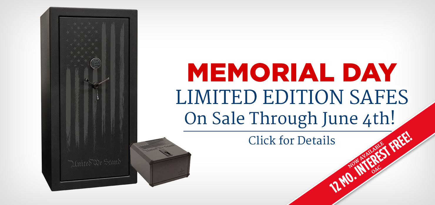 Memorial Day Limited Edition Safes On Sale