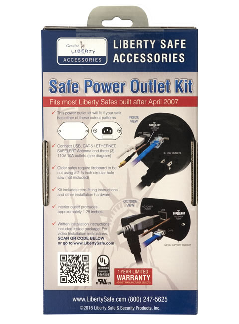 Electrical Outlet Kit Package Back