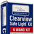 Clearview Safe Light 6 Wand Package