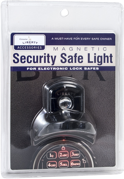 Security Light for Electronic Lock Package